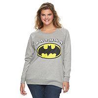 Juniors' Plus Size DC Comics Batman Graphic Sweatshirt