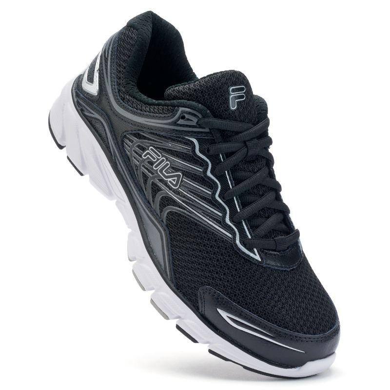 Fila® Memory Maranello 4 Men's Running Shoes, Size: 7, Grey (Charcoal) thumbnail