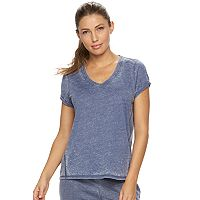 Women's bliss Vintage Wash V-Neck Tee