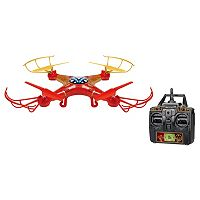 Marvel Iron Man 2.4GHz 4.5CH RC Sky Hero Drone by World Tech Toys