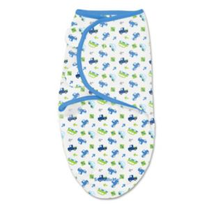 Summer Infant SwaddleMe Small Which Way Cars Original Swaddle