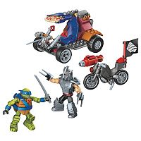 Mega Bloks Teenage Mutant Ninja Turtles Leo vs. Shredder Showdown Set
