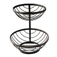 Spectrum Ashley 2-Tier Basket