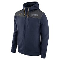 Men's Nike Milwaukee Brewers Colorblock Hoodie