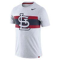 Men's Nike St. Louis Cardinals Tri-Blend Dri-FIT Tee