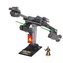 Star Trek Klingon D-7 Cruiser Collector Construction Set by Mega Bloks by