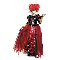 Disney's Alice Through The Looking Glass Adult Plus Red Queen Deluxe Costume