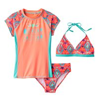 Girls 7-16 SO® 3-pc. Geometric