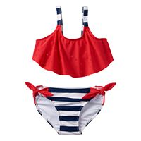Girls 7-16 SO® Stars & Stripes Perforated 2-pc. Bikini Swimsuit Set