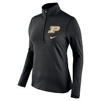 Women's Nike Purdue Boilermakers Tailgate Quarter-Zip Top