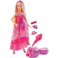 Barbie Endless Hair Kingdom Snap 'n Style Princess Barbie Doll