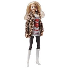 Barbie Andy Warhol Campbell's Soup Barbie Doll by