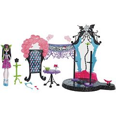 Monster High Welcome to Monster High Dance The Fright Away Playset by