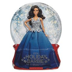 2016 Holiday Barbie Doll Blue by