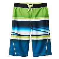 Boys 8-20 ZeroXposur Whiplash Striped Swim Trunks