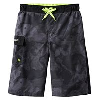 Boys 8-20 ZeroXposur Camo Textured Swim Trunks