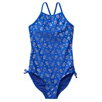 Girls 7-16 SO® Foil Pineapple Printed One-Piece Swimsuit
