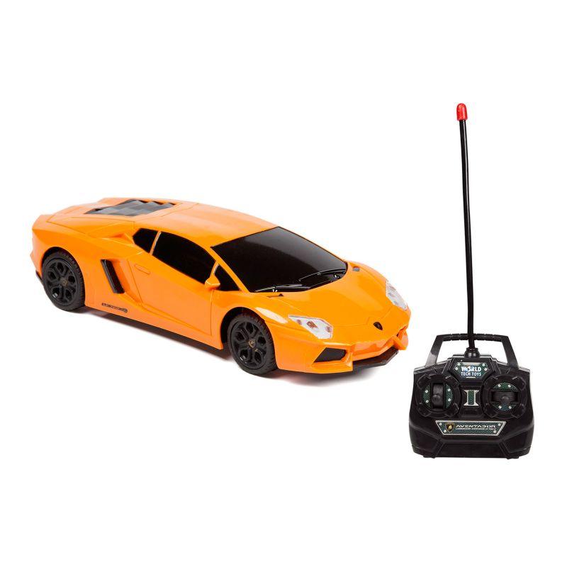 Lamborghini Aventador LP 700-4 Remote Control Car by World Tech Toys, Orange thumbnail