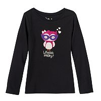Girls 4-7 Jumping Beans® Halloween Glitter Graphic Tee