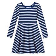 Girls 4-10 Jumping Beans® Printed Skater Dress