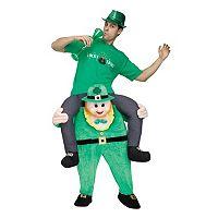 Adult Leprechaun Riding on Shoulder Costume