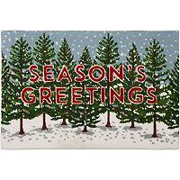 St. Nicholas Square® ''Season's Greetings'' Rug - 20'' x 30''