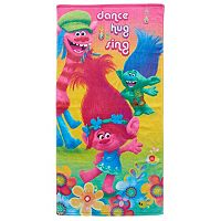 DreamWorks Trolls Hair Hugfest Bath Towel