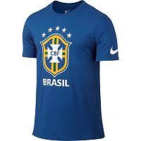 Men's Nike Brasil Crest Tee