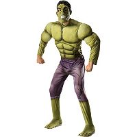 Adult Avengers 2: Age of Ultron Deluxe Hulk Costume