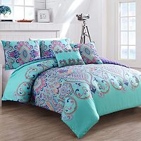 VCNY Amherst Reversible Comforter Set