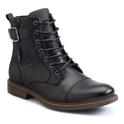 Apt. 9 Men's Cap-Toe Lace-Up Boots by
