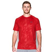 Men's Under Armour Tech Patterned Running Shirt