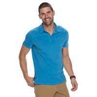 Men's SONOMA Goods for Life™ Sun-Washed Short Sleeve Polo