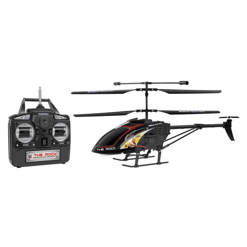 World Tech Toys WWE Wrestler Remote Control Gyro Helicopter, Multicolor thumbnail