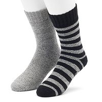 Men's Cabin Socks 2-Pack Lounge Crew Socks