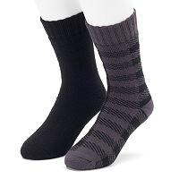 Men's Cabin Socks 2-Pack Lounge Crew Socks