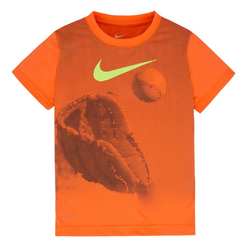 Boys 4-7 Nike Dri-FIT Speckled Sports Graphic Tee, Boy's, Size: 6, Orange Oth