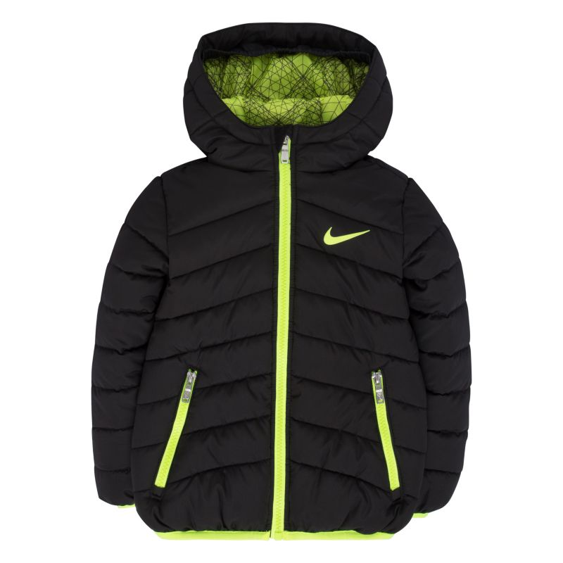 Toddler Boy Nike Hooded Puffer Jacket, Size: 4T, Oxford