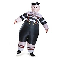 Disney's Alice Through the Looking Glass Inflatable Tweedle Dee Or Tweedle Dum Adult Costume