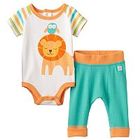 Baby Boppy Lion Bodysuit & Pants Set