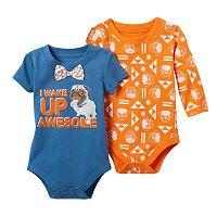 Baby Boy Baby Starters 2-pk. Pug Bodysuits