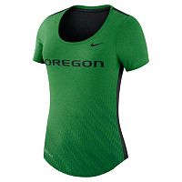 Women's Nike Oregon Ducks Dri-FIT Scoopneck Tee