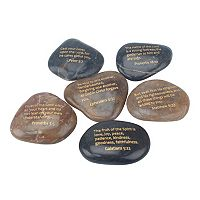 Stonebriar Collection Scripture Rock 6-piece Set