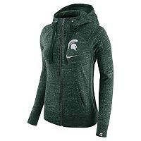 Women's Nike Michigan State Spartans Vintage Full-Zip Hoodie