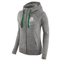 Women's Nike Oregon Ducks Vintage Full-Zip Hoodie