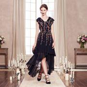 LC Lauren Conrad Runway Collection High-Low Ruffle Maxi Dress - Women's