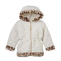 Girls 4-6x Pacific Trail Heart Quilted Jacket