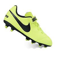 Nike Jr. Tiempo Rio III V Firm-Ground Kids' Soccer Cleats