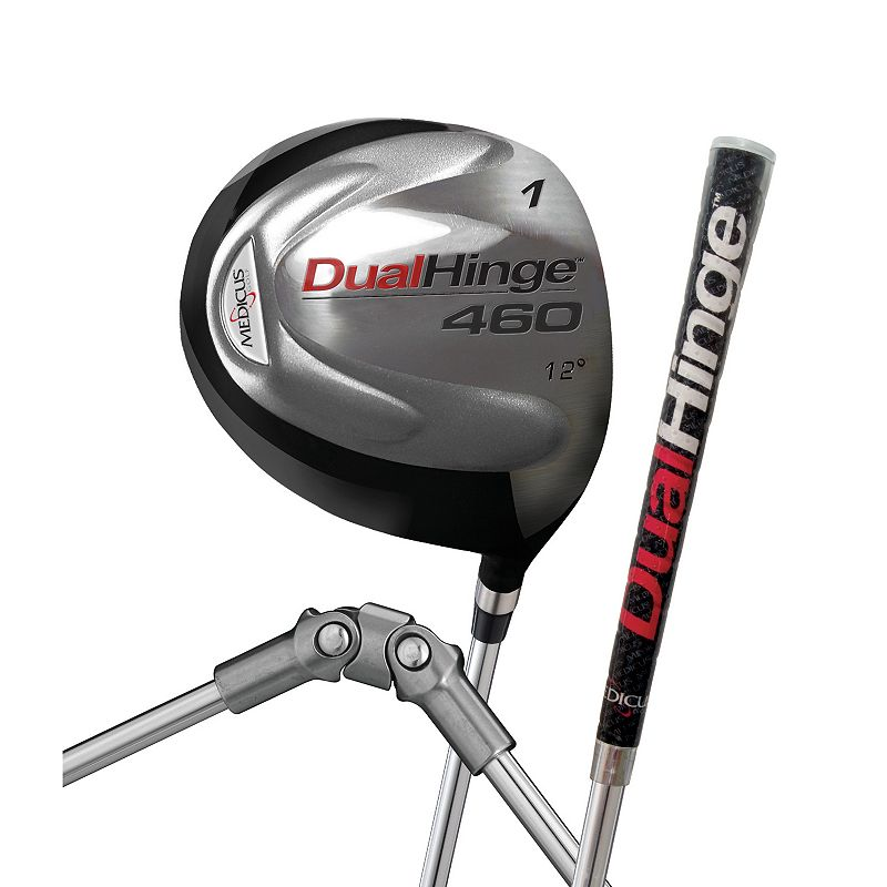 DualHinge D.A. Driver Golf Swing Trainers in Black Finish (Left Handed Men)