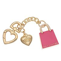 Juicy Couture Rhinestone Handbag Key Chain